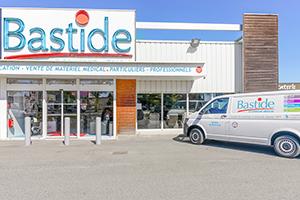enseigne façade devanture magasin BOURGES magasin diagnostic à domicile